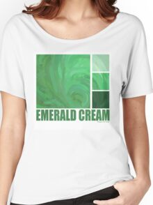 Emerald Cream Women's Relaxed Fit T-Shirt