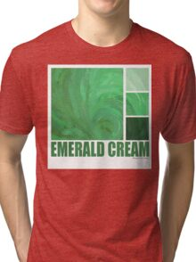 Emerald Cream Tri-blend T-Shirt