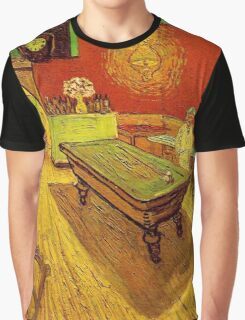 Country Pub by Vincent Van Gogh Graphic T-Shirt