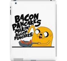 bacon pancake making hafun iPad Case/Skin