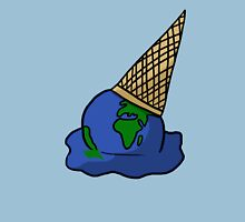 Melting Ice Cream/Earth Unisex T-Shirt