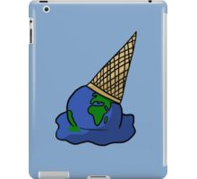 Melting Ice Cream/Earth iPad Case/Skin