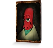why not zoidberg? Greeting Card