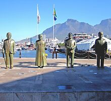 NOBEL SQUARE CAPE TOWN SOUTH AFRICA by JAYMILO