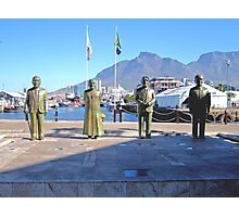 NOBEL SQUARE CAPE TOWN SOUTH AFRICA Photographic Print
