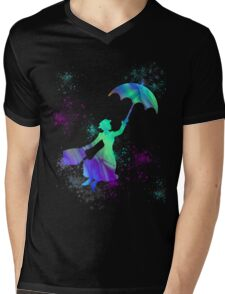 magical mary poppins Mens V-Neck T-Shirt