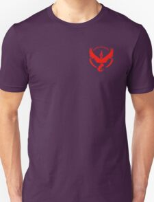 Pokemon Go   Team Valor   Black Background   Small   New!   High Quality! Unisex T-Shirt