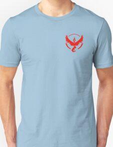 Pokemon Go | Team Valor | Black Background | Small | New! | High Quality! Unisex T-Shirt