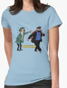 haddock Womens Fitted T-Shirt