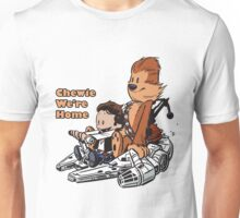 Chewie And Han Calvin And Hobbes Unisex T-Shirt