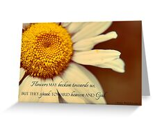 Speak Toward God Greeting Card