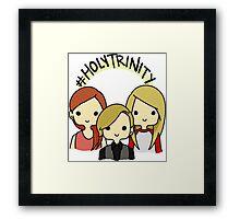 #holytrinity Framed Print
