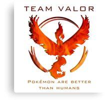Pokemon GO! Team Valor Canvas Print