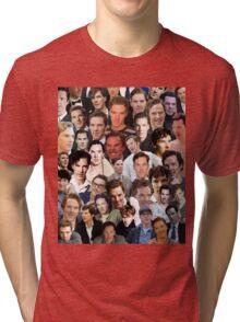 benedict cumberbatch collage Tri-blend T-Shirt