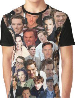 benedict cumberbatch collage Graphic T-Shirt