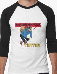 tintin_haddock Men's Baseball ¾ T-Shirt