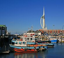 Old Portsmouth Harbour by RedHillDigital