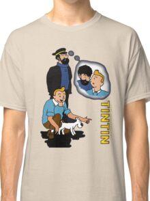 tintin_haddock Classic T-Shirt