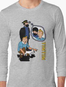 tintin_haddock Long Sleeve T-Shirt