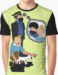 tintin_haddock Graphic T-Shirt