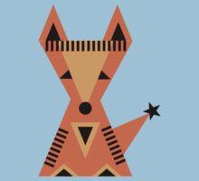 Little Fox, foxy, animal, autumn, forest, wild One Piece - Short Sleeve