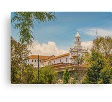 Historic Center of Cuenca, Ecuador Canvas Print