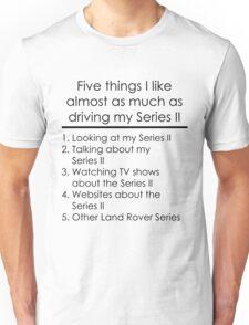 5 Things I Like - Series 2 Unisex T-Shirt