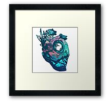 Dishonored - The Heart (Blue) Framed Print