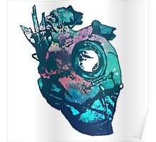 Dishonored - The Heart (Blue) Poster