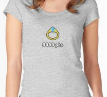 High Score - Ring A 8000pts Women's Fitted Scoop T-Shirt