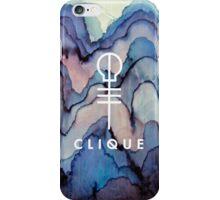 clique iPhone Case/Skin