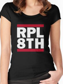 RPL 8TH - Repeal the 8th logo Women's Fitted Scoop T-Shirt