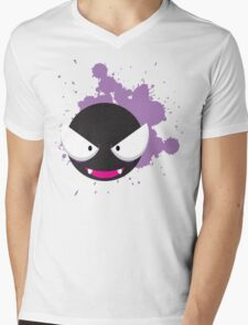Ghastly Splatter Mens V-Neck T-Shirt