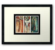 Peyote Cult Framed Print