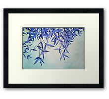 bamboo susurration  Framed Print
