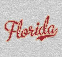Florida Script Crimson VINTAGE by Carolina Swagger