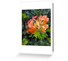 Peach Blossom Greeting Card