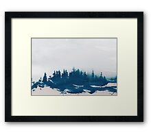 Hollowing Souls Framed Print