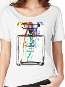 Perfume Watercolor Women's Relaxed Fit T-Shirt