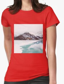 Canadian Mountains Womens Fitted T-Shirt