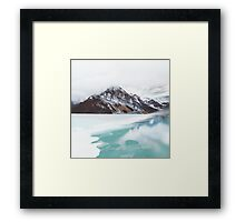 Canadian Mountains Framed Print