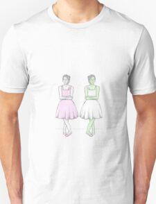 Two BEST Friends Unisex T-Shirt