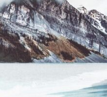 Canadian Mountains Sticker