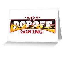 PopOff Gaming Greeting Card