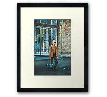 Street fashion concept Framed Print