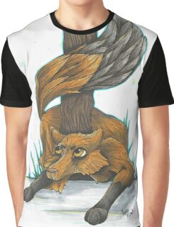 Snow Fox Graphic T-Shirt