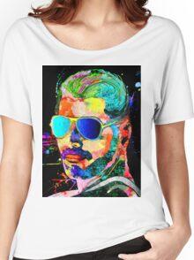 Queen Singer FM Grunge Women's Relaxed Fit T-Shirt