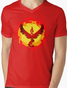 Team Valor and The Fire Within! Mens V-Neck T-Shirt