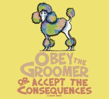 Obey The Groomer Baby Tee