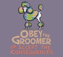 Obey The Groomer Kids Tee